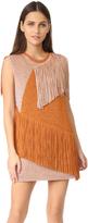 M Missoni Fringe Mini Dress