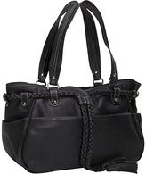 Piel Braided Belt Shoulder Bag
