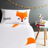 Holubolu personalised childrens clothing Fox Pillowcase