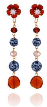 Nanette Lepore Ball Drop Linear Earring
