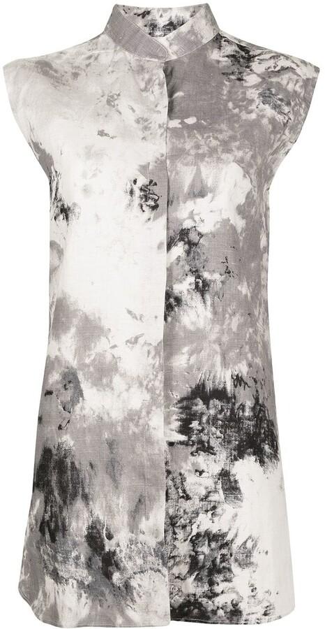 Bambah Tie-Dye Print Sleeveless Tunic