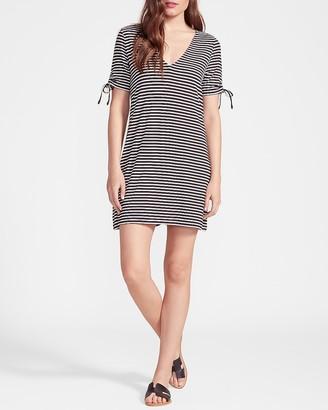 Express Stripe Me Later Mini Dress