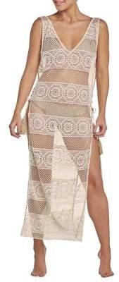 Pq Joy Lace Coverup Dress
