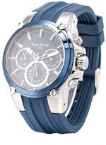 English Laundry Men's Watch EL7599S236-125 Stainless Steel, Dial, Rubber Strap