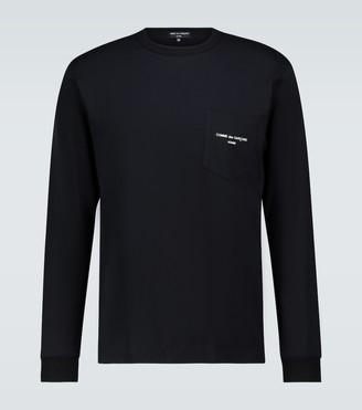 Comme des Garçons Homme Long-sleeved cotton T-shirt