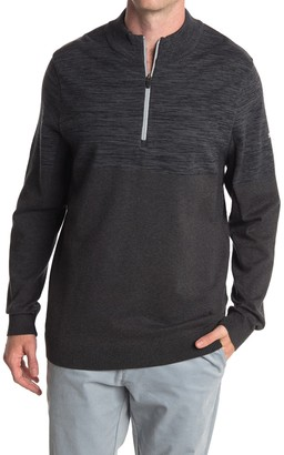 Puma Black evoKNIT 1/4 Zip Golf Sweater
