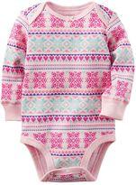 Carter's Baby Girl Thermal Bodysuit