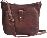 Frye Melissa Button Crossbody Bag - Italian Leather (For Women)
