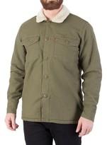 Levi's Men's Military Sherpa Jacket, Green green