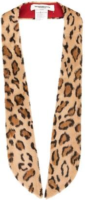 TAKAHIROMIYASHITA TheSoloist. Leopard Print Collar