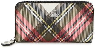Vivienne Westwood Derby tartan-print faux leather wallet