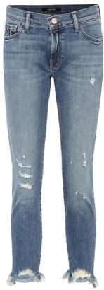 J Brand Sadey low-rise cropped jeans