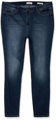 Jessica Simpson Women's Misses Adored Curvy High Rise Skinny Jean