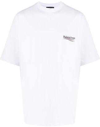 Balenciaga printed logo oversized T-shirt