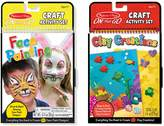 Melissa & Doug Face Painting & Clay Creations On-the-Go Crafts Bundle