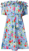 Love Moschino floral print dress - women - Cotton - 40