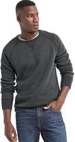 Gap Supersoft double-knit crew sweatshirt