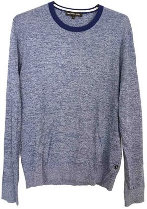 Michael Kors Blue Cotton Knitwear & Sweatshirts