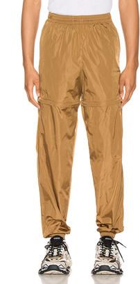 Balenciaga Zipped Tracksuit in Walnut Brown | FWRD