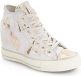 Converse Chuck Taylor ® All Star ® Lux Brush Off Hidden Wedge High Top Sneaker (Women)