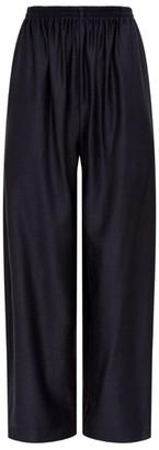 eskandar Wool-Silk Trousers