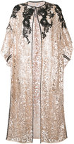 Antonio Marras lace shortsleeved coat - women - Polyester - 40