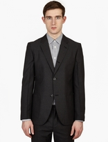 Marc Jacobs Charcoal Wool Suit Jacket