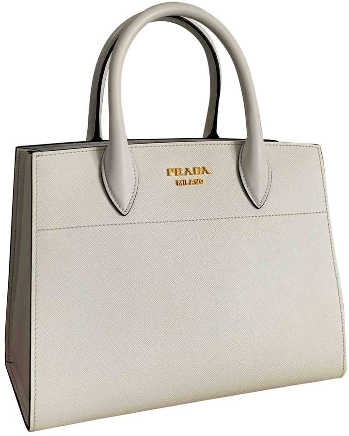f6446b2a6a Prada White Saffiano Leather Handbags - ShopStyle