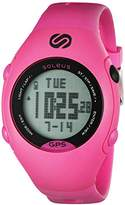 Soleus Women's SG006-611 GPS Mini Digital Display Quartz Pink Watch