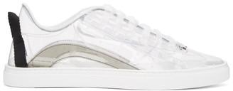 DSQUARED2 Transparent PVC Low-Top Sneakers