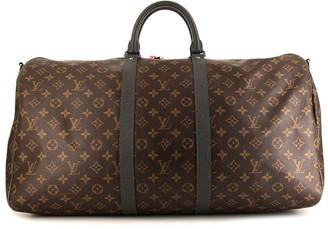 Louis Vuitton x Kim Jones pre-owned Keepall 55 holdall