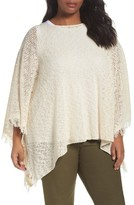 Eileen Fisher Plus Size Women's Organic Cotton Poncho