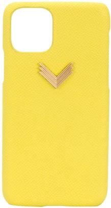 Manokhi x Velante logo iPhone 11 Pro case