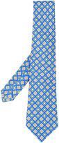 Kiton printed pattern tie - men - Silk - One Size
