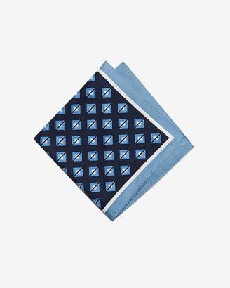 Express Diamond Print Pocket Square