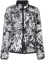Just Cavalli printed bomber jacket - women - Polyester - 38
