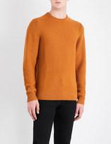 Sandro Crewneck wool-blend jumper