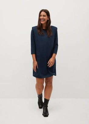 MANGO Shoulder pad dress