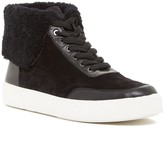 Via Spiga Maia Genuine Shearling Lined Sneaker