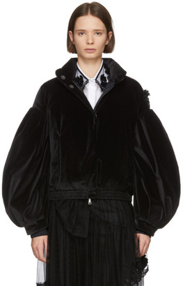 MONCLER GENIUS 4 Moncler Simone Rocha Black Down Theresa Turtleneck