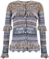 Cecilia Prado knit cardigan - women - Acrylic/Lurex/Polyester/Viscose - G