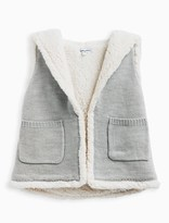 Splendid Little Girl Hooded Sherpa Vest