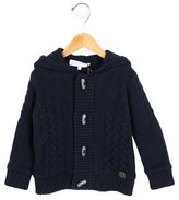 Tartine et Chocolat Boys' Cable Knit Hooded Jacket w/ Tags