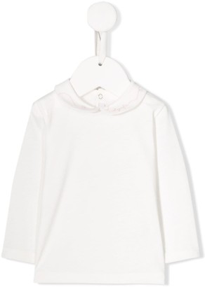 Il Gufo Peter Pan collar top