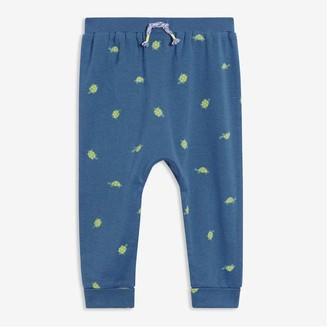 Joe Fresh Baby Boys' Print Harem Pants, Blue (Size 3-6)