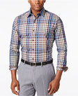 tasso elba mens classic fit plaid longsleeve shirt only at macys