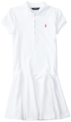 Ralph Lauren Girl's Short-Sleeve Polo Dress