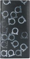 Salvatore Ferragamo Gancio print breast pocket wallet - men - Calf Leather - One Size