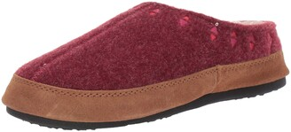 Acorn Women's Embroidered Hoodback Slipper