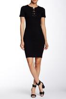 Blvd Lace-Up Dress